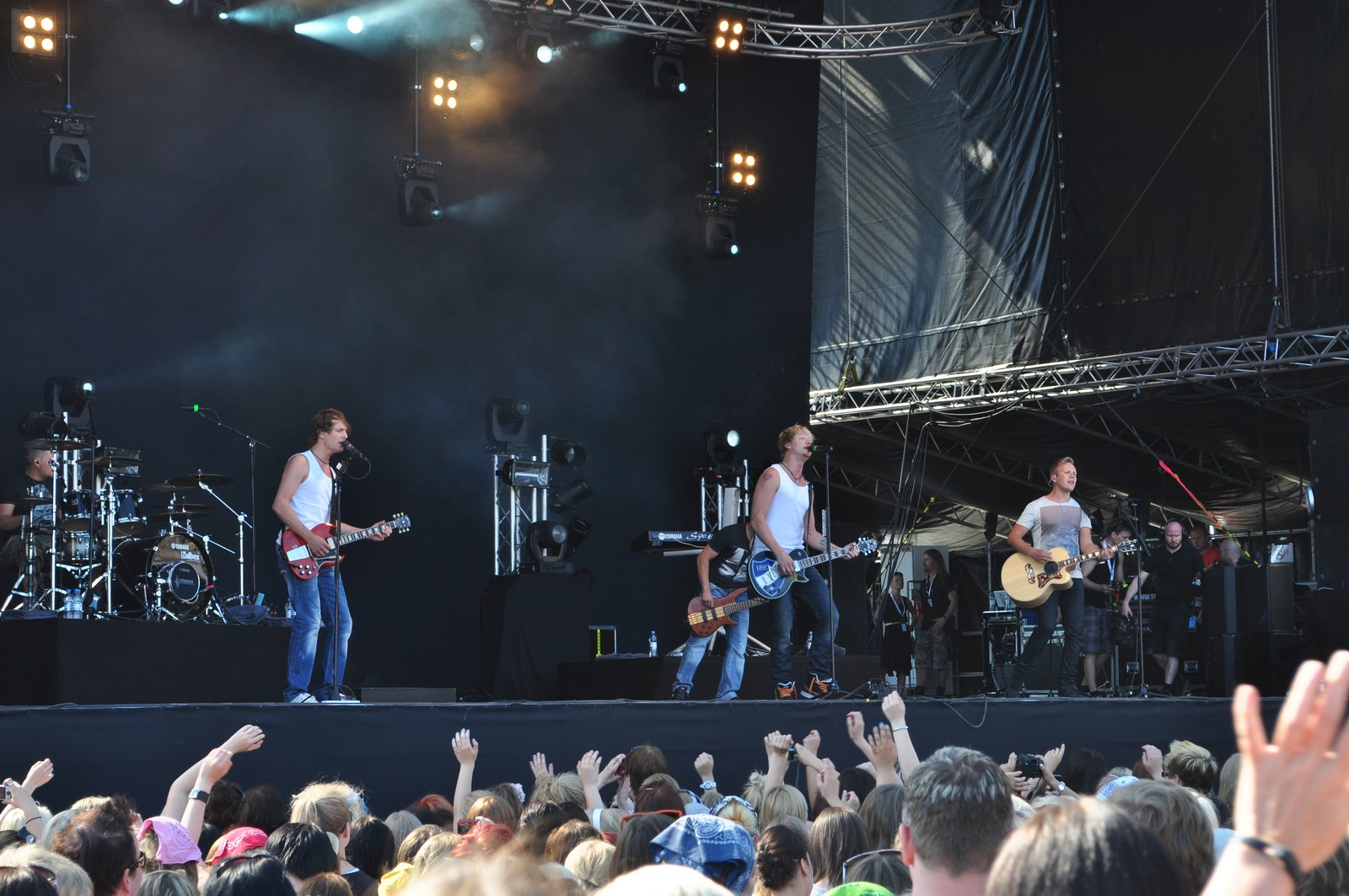 Sunrise Avenue Suomen kesäfestareille 2012!