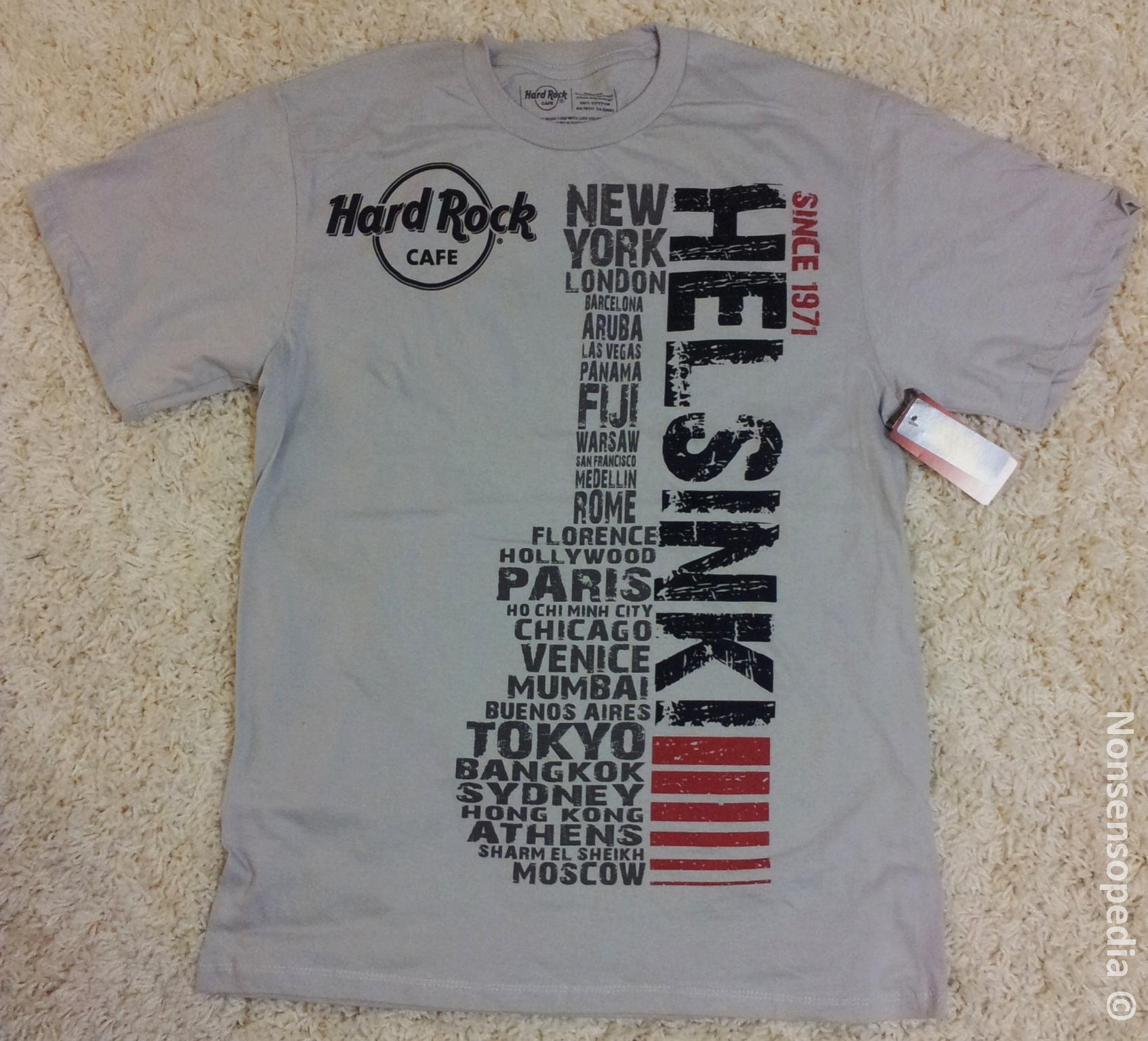 Hard Rock Cafe Helsinki T Shirt