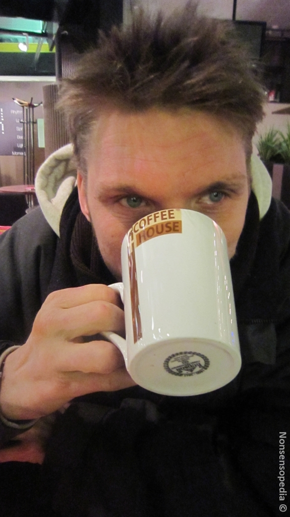 Kahville mentiin, mut sit päädyttiin kaakaolle CH:hon
