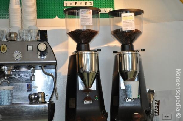 Köpis ja Coffeecollective myllyt