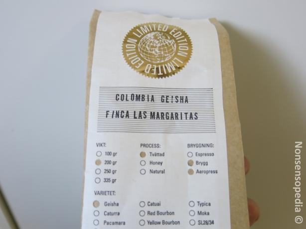 Colombia Geisha Finca Las Margaritas