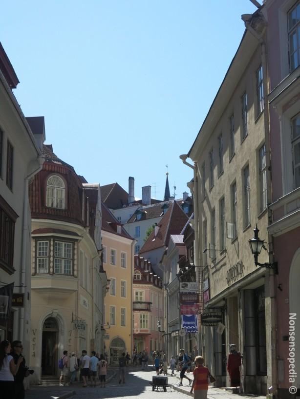 vanhaa kaupunkia