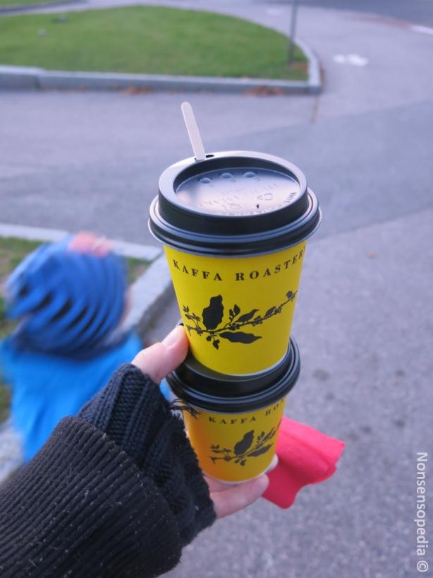 Kuppilliset kahvia