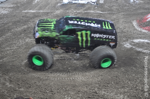 Monster Energy ja donitsia