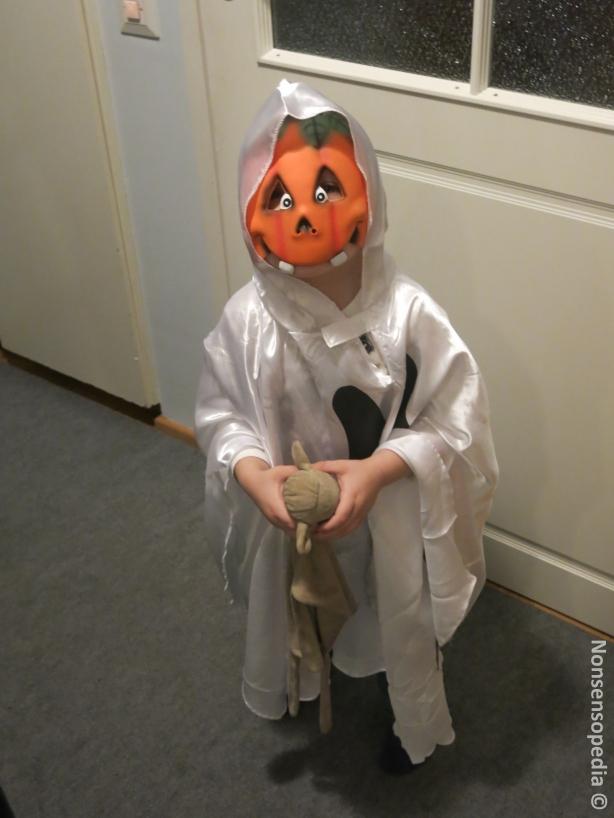 Halloween kummitus!
