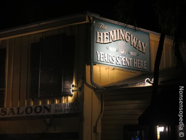 Hemingwayn kapakka
