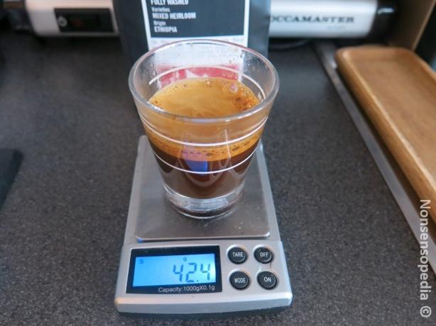 """periaatteessa espressoksi ihan käypä tälläinen 52,6% """"vahvuinen"""""""