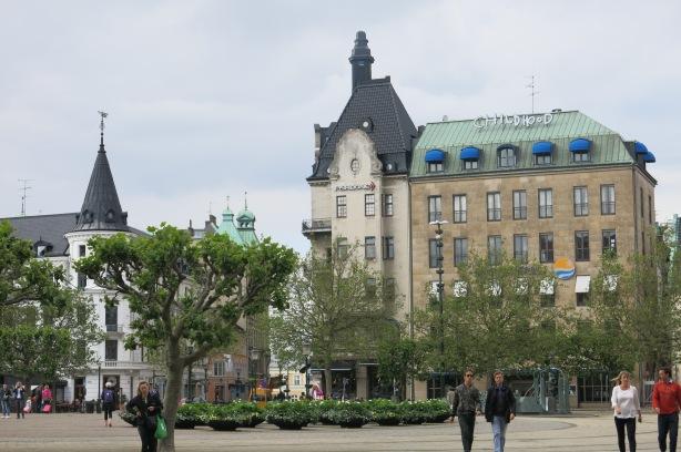 Malmön maisemaa